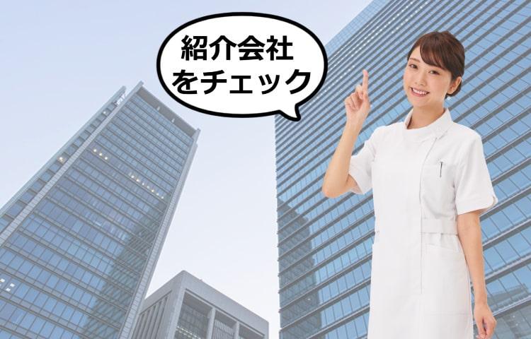 看護師人材紹介会社